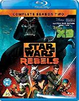 Star Wars Rebels Season 2 Blu-ray Region Free Amaz