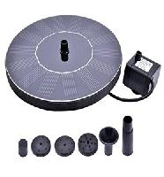 RockBirds PQ03 Solar Bird bath Fountain Pump with