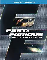 Fast & Furious 7-Movie Collection (Blu-Ray + D