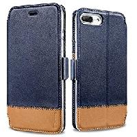 iPhone 7/7Plus Benuo Genuine Leather Wallet Case f
