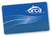 Puget Sound Transit Orca Card
