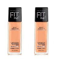 2-Ct Maybelline New York Fit Me Dewy and Smooth Fo