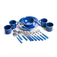 Walmart Stansport 24 piece camping dishes $13.72 w