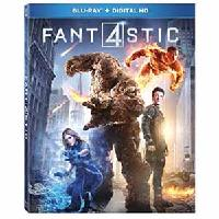 Blu-ray Movies: Fantastic Four, The Secret Life of