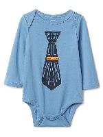 GAP Sale 40% Off + 10% Off: Baby Graphic Bodysuit