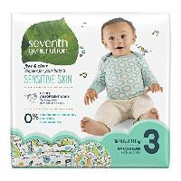 Seventh Generation Baby Diapers, Free & Clear