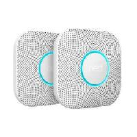 Nest Protect Wired or Battery Smoke Detector 2-Pac