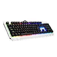 OMBAR K676 RGB Mechanical Gaming Keyboard Cherry Blue Switch 104