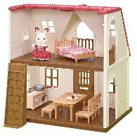 Calico Critters Red Roof Cozy Cottage $17.42 &#821
