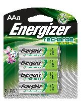 AA Rechargeable Batteries 8 Pack Energizer $12.93