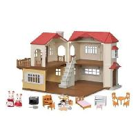 Calico critters Red Roof country home with bonus i