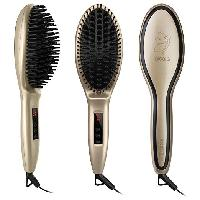 Metal Ceramic Heater Hair Straightening Brush at $
