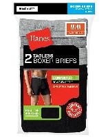 2-Pack Hanes Men's ComfortSoft Boxer Briefs