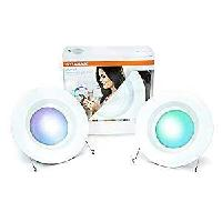 2x Sylvania Lightify Color LED Recessed Can Light