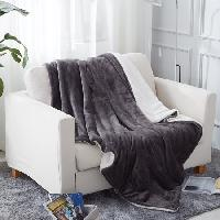 Plush Soft Warm Sherpa Throw Blanket $15.36
