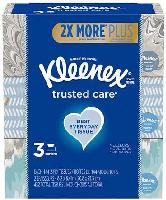 6-Pack 144-Ct Kleenex Trusted Care Facial Tissues