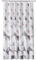 MoDRN Shower Curtains: 72″ x 72″ or 72