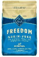 24-Lbs Blue Buffalo Freedom Grain Free Chicken Rec