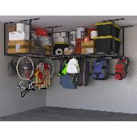 SafeRacks Overhead Garage Storage Combo Kit, Two 4